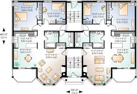 multi family house plans triplex mulhall multifamily triplex alluring multi family house plans home