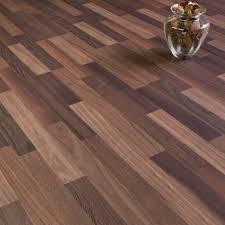 Coloured Laminate Flooring Sydney Walnut 3 Strip Laminate Flooring 7mm Flat Ac3 2 48m2