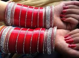 punjabi wedding chura image result for choora bangles design wedding chura