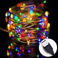 usb office fairy lights amazon com led string lights solla string copper wire lights usb