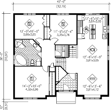 Split Floor Plan Split Level Floor Plans Raised Bungalow Floor Plans Attractive 3