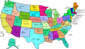 united states map with state names capitals and abbreviations united states map state capitals map of the united states with