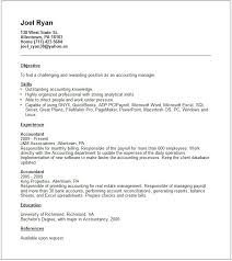 Resume Accounting Examples by Accounting Resume Examples And Career Advice