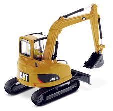 308c mini hydraulic excavator diecast masters