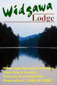 Killarney Cottage Rentals by Widgawa Canoe Rentals For Killarney Provincial Park Northern