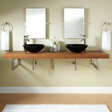 Wall Mounted Bathroom Vanity Cabinets by Vanities Garvey Porcelain Wall Mount Bathroom Sink Wall Mounted