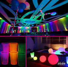 glow in the party ideas for teenagers festa neon neon party neon and sweet 16
