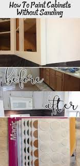 can i paint cabinets without sanding them how to paint oak cabinets white without sanding unugtp