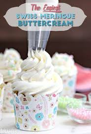 How To Become A Cake Decorator From Home by The Easiest Swiss Meringue Buttercream Sugarhero
