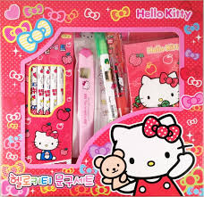 amazon sanrio kitty stationery pencil ruler
