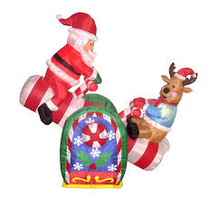Grinch Blow Up Yard Decoration by Christmas Outdoor Inflatables Page Two Christmas Wikii