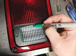 jeep wrangler backup lights rigid industries sr m flush mount into jeep wrangler jk taillights