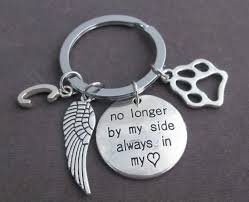 remembrance keychain dog memorial keychain dog remembrance keychain pet memorial
