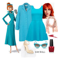 diy halloween costume lucy wilde from despicable me 2 polyvore