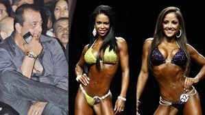 sanjay dutt at women body building championship youtube