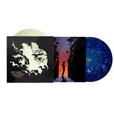 michael jackson scream 2xlp glow in the dark blue splatter vinyl