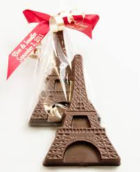 eiffel tower favors chocolate eiffel tower wedding party favors 2 99 favors