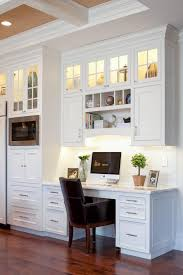 kitchen area ideas collection in kitchen desk area and built in kitchen desk design