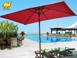 rectangular patio umbrellas foter