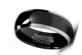 black wedding band men s black wedding ring with black diamonds