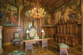 Romanesque Interior Design Ornamental Woodcarver Patrick Damiaens Neuschwanstein Castle