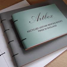 Leather Photo Albums Engraved Engraved Leather Baby Album By Artbox Notonthehighstreet Com