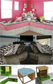 Free Plans For Loft Beds With Desk by 122 Best Boys Room Images On Pinterest Bunk Beds With Stairs