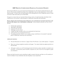 Personal Statement Essay Samples Resume Personal Statement Examples Free Resume Example And