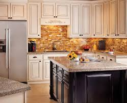 kitchen backsplash granite a statement with a trendy mosaic tile for the kitchen