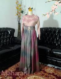 desain baju gaun anak baju muslim sarimbit dengan desain menawan butik jahit pesan