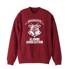 hogwarts alumni sweater potter hogwarts sweater thick sweatshirt