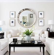 livingroom wall decor mirror wall decoration ideas living room home design ideas