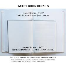wedding guest book pages wedding guest book hardcover wedding guestbook 5x7 or 8x10
