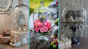 Flamingo Home Decor Diy Shabby Chic Style Glass Cloche Decor Ideas Home Decor