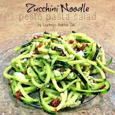 zucchini noodle pesto pasta salad spiralizer giveaway