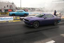 Dodge Challenger Drag Pack - hellcats u0026 pack 392s hit st louis for drag showdown