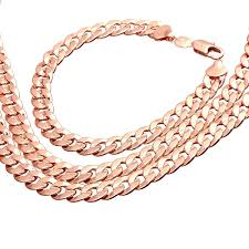 rose gold men necklace images Dazzling mens rose gold jewelry 4 htb1h0 jpg