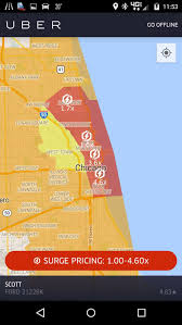 Red Line Map Chicago by Lyft U0027s Heat Maps Vs Uber U0027s Surge Pricing Who Wins