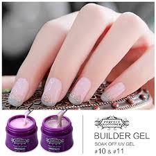 perfect summer new uv led 15ml hard builder gel for soak off nails