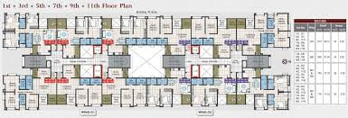 The O2 Floor Plan by Kumar Picasso By Kumar Company In Hadapsar Pune Price Location
