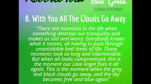 go away green with you all the clouds go away from the album