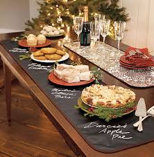 Pictures Of Buffet Tables by Useful Table Runner Chalkboard Table Chalkboards And Pot Luck