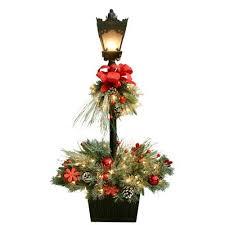 ge series name 4 ft pre lit scotch pine slim artificial christmas