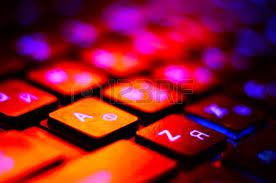 Laptop With Light Up Keyboard Illuminated Keyboard Stock Photos Royalty Free Illuminated
