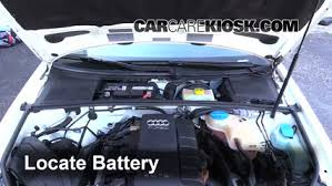2007 audi a4 turbo replacement battery replacement 2002 2008 audi a4 2007 audi a4 2 0l 4 cyl