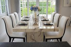 interior marble dining table and chairs marble dining table sets
