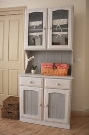 shabby chic kitchen hutch