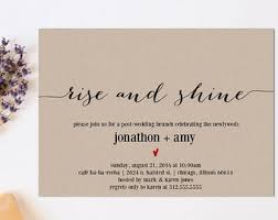post wedding brunch invitations the most wanted collection of wedding brunch invitations in