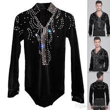 online cheap man latin ballroom dancing dresses top high grade