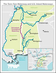 map ky and tn tennessee tombigbee waterway maps mississippi kentucky